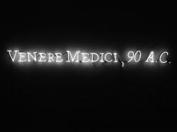 JOSEPH KOSUTH CONDIZIONI D'ASSENZA (Venere Medici, 90 a. C.) 1999 Videoinsight® Collection