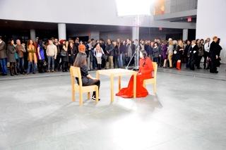 M.ABRAMOVIC Performance MOMA