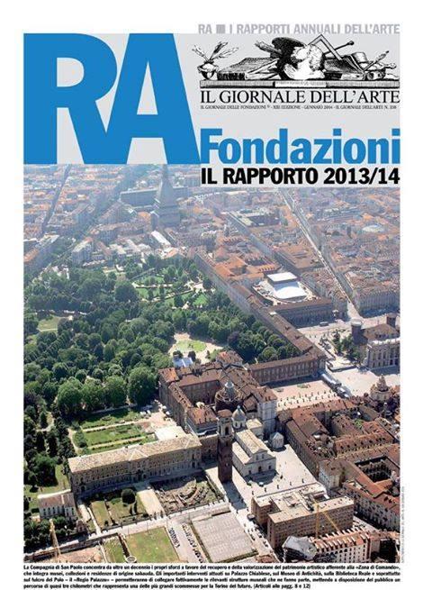 Il Giornale delle Fondazioni© - XIII Edizione - Gennaio 2014 - Rapporto Annuale 2013/2014