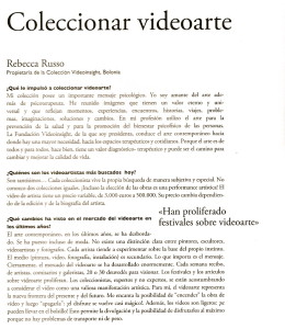 Colleccionar videoarte