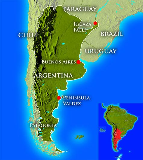 mappa geografica dell'argentina_0
